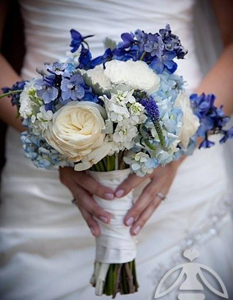 bouquet de mari e bleu 20 beaux bouquets de mari e pour. Black Bedroom Furniture Sets. Home Design Ideas
