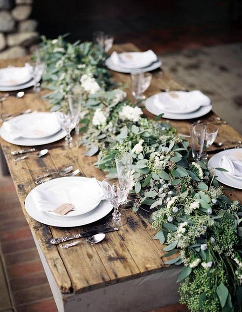 centre de table allong centre de table nos 20 jolies id es pour un mariage r ussi elle. Black Bedroom Furniture Sets. Home Design Ideas