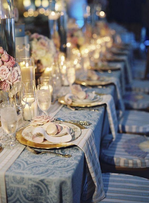 de table de mariage baroque - Les décorations de tables de mariage ...