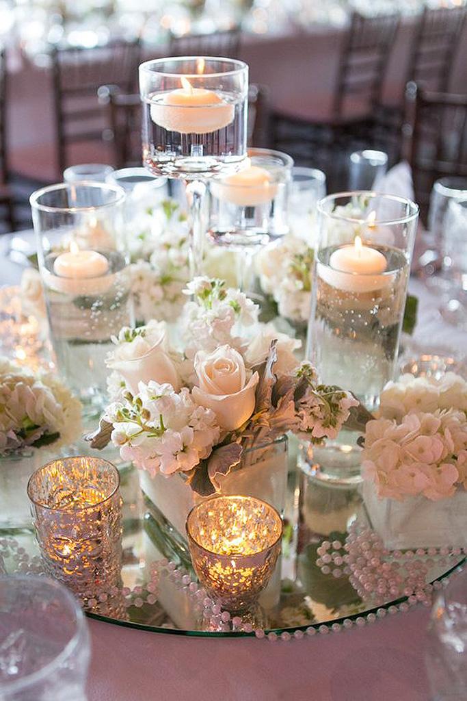 Photophore eau le photophore le secret d une for Centrotavola matrimonio candele