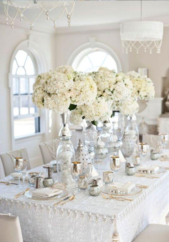 th me mariage argent et blanc quel th me pour mon mariage elle. Black Bedroom Furniture Sets. Home Design Ideas