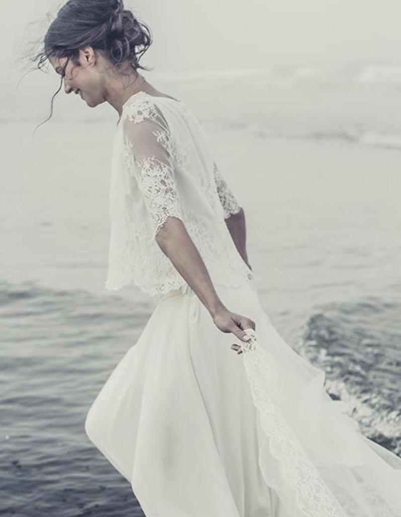 Robe de mari e de princesse dentelle de calais 66 robes for Robes en dentelle pour mariage