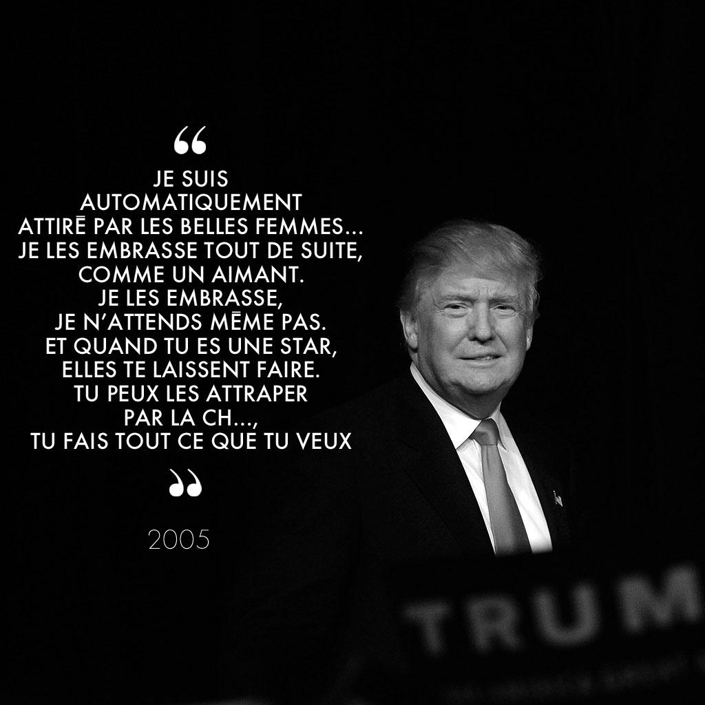 Super Donald Trump misogyne et sexiste en 10 citations - Elle RF58