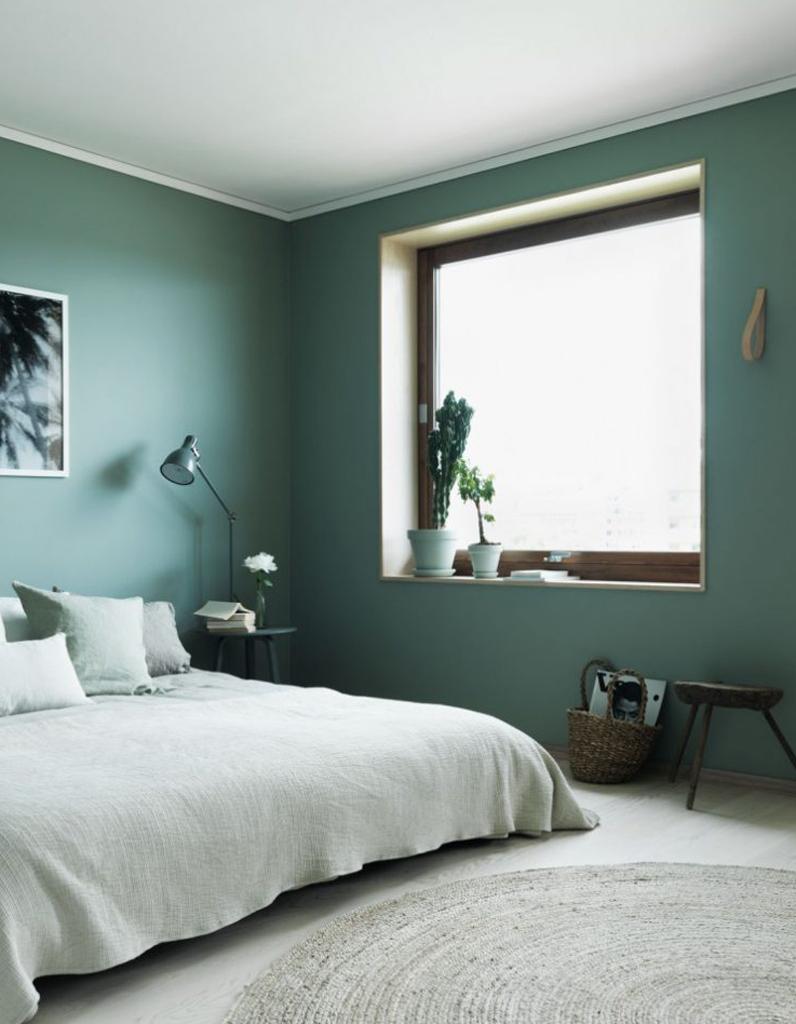 Emejing Chambre Vert D Eau Contemporary - Design Trends 2017 ...