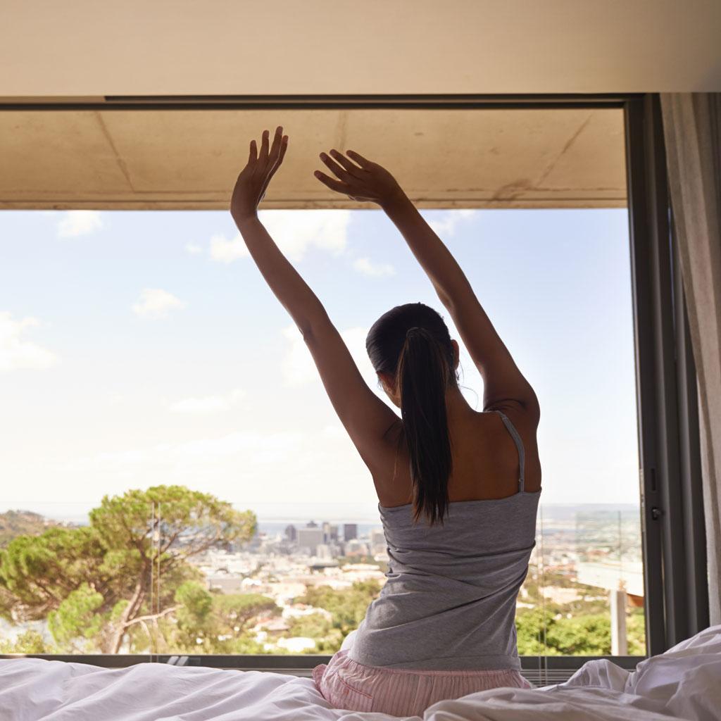 m ditation du matin comment bien m diter le matin elle. Black Bedroom Furniture Sets. Home Design Ideas