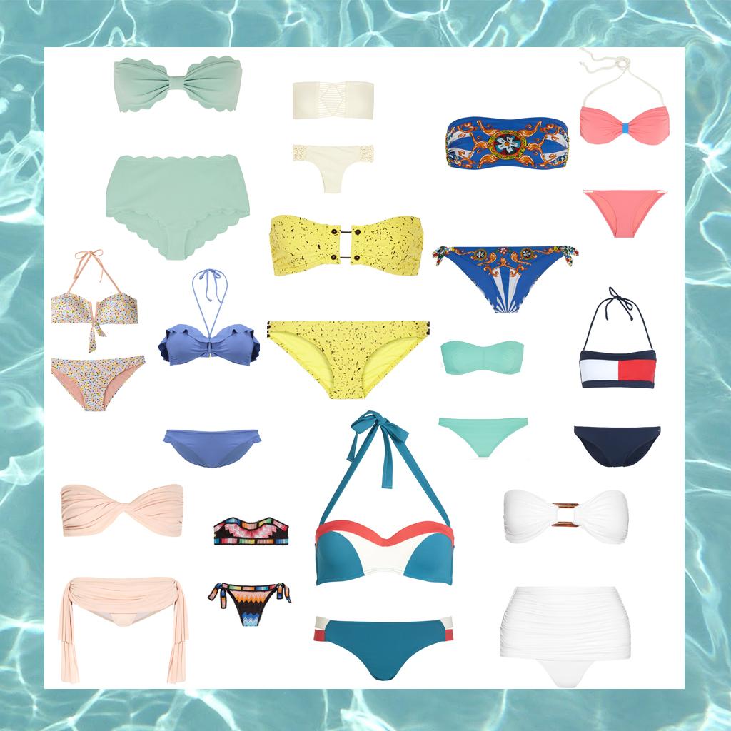 maillot de bain bandeau 25 maillots de bain bandeau pour chiller la plage cet t elle. Black Bedroom Furniture Sets. Home Design Ideas