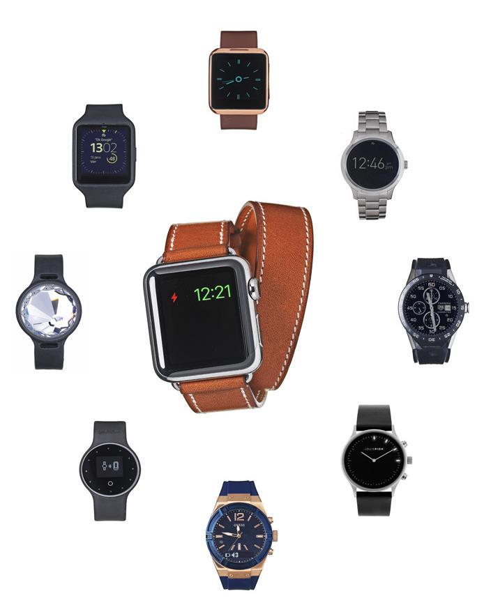 10 montres connect es qui remettent les pendules l 39 heure elle. Black Bedroom Furniture Sets. Home Design Ideas