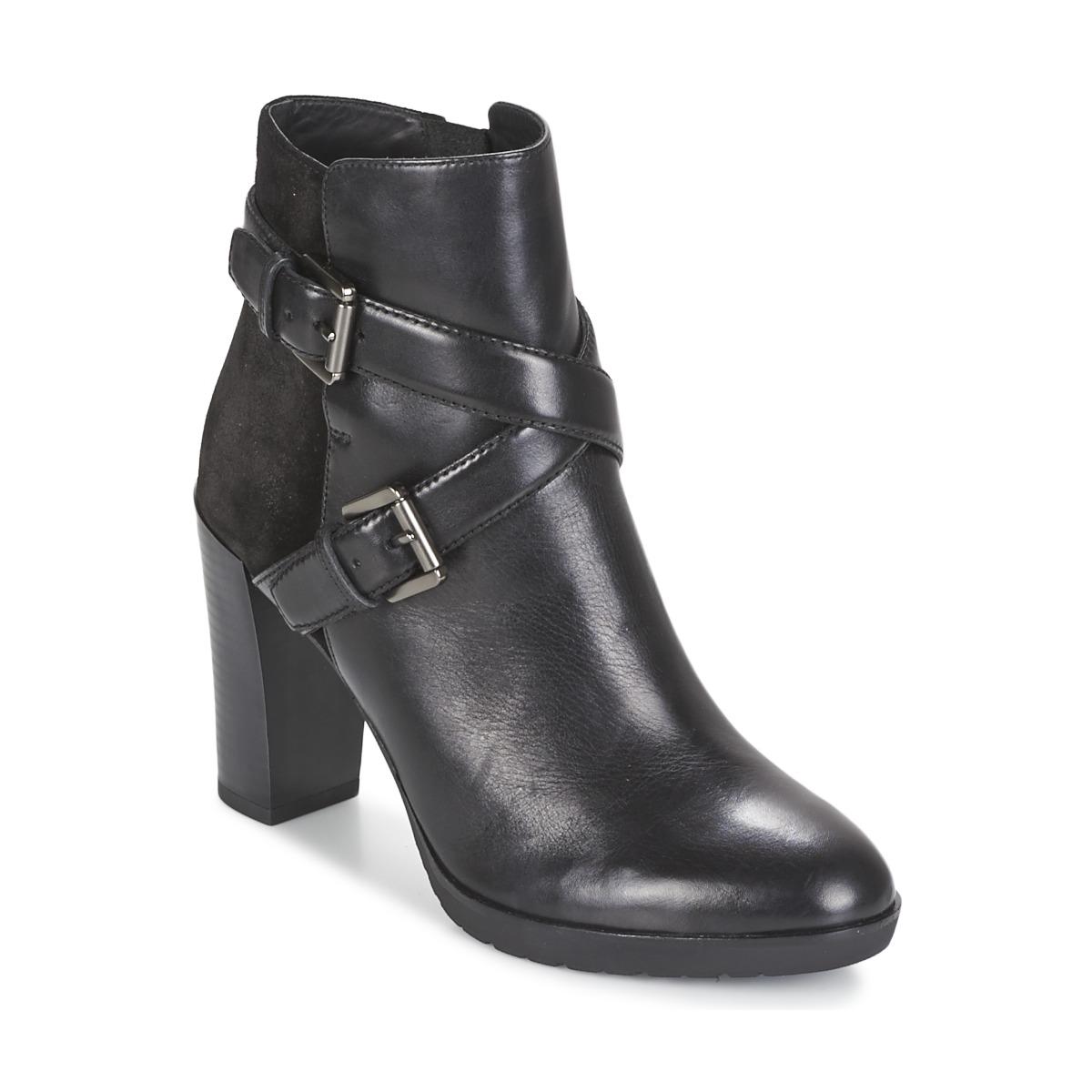 bottines noires g ox 50 bottines noires pour commencer l hiver du bon pied elle. Black Bedroom Furniture Sets. Home Design Ideas