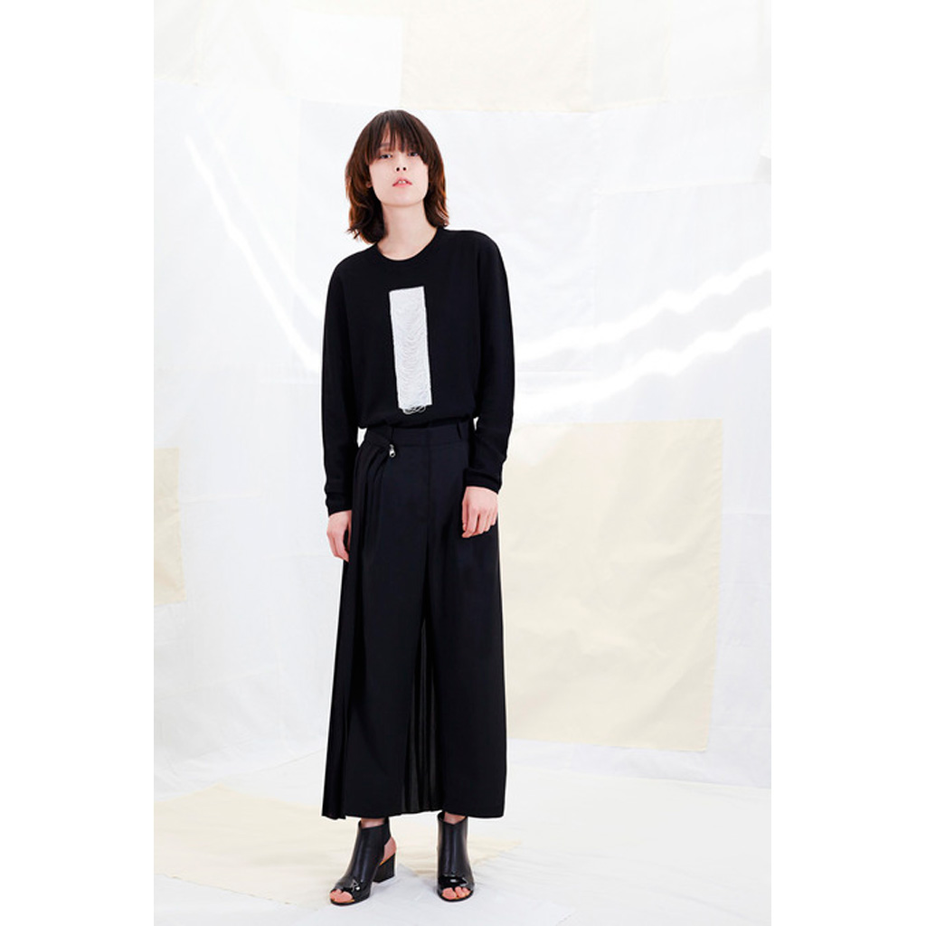 la jupe culotte longue de maison martin margiela notre best of des pr collections printemps. Black Bedroom Furniture Sets. Home Design Ideas