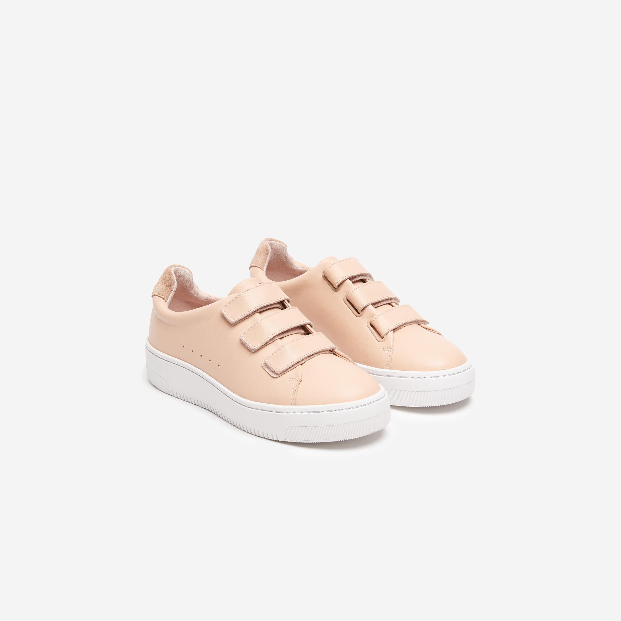 magasin en ligne 7a3ef fe530 basket sandro beige