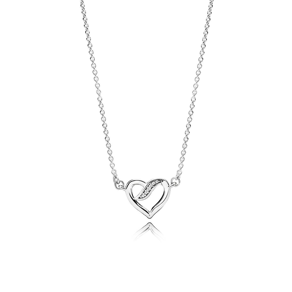 le collier rubans de l amour de pandora 10 merveilles pandora se faire offrir pour la saint. Black Bedroom Furniture Sets. Home Design Ideas