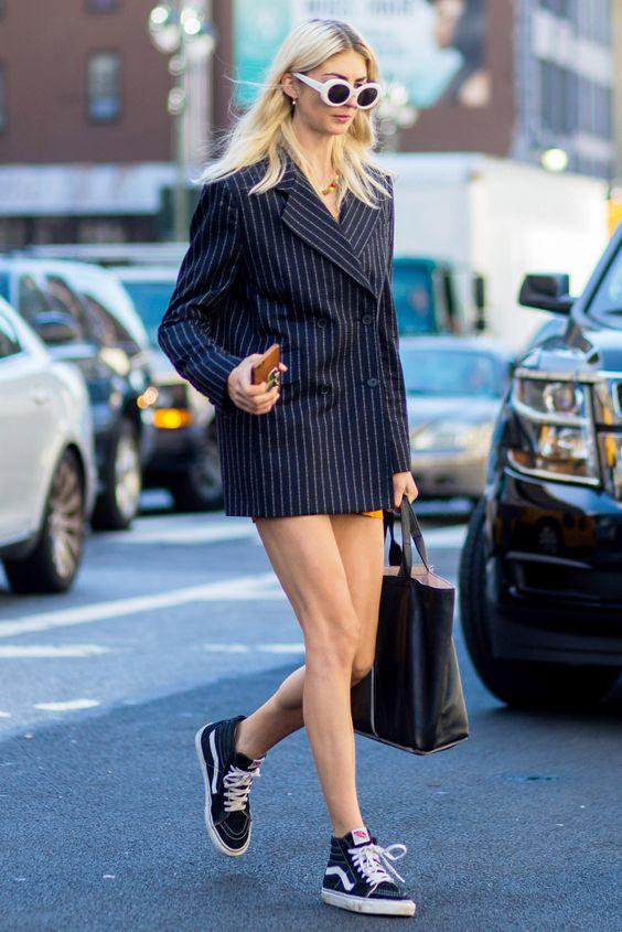 Comment porter des vans nos inspirations pour savoir - Comment porter une veste en jean homme ...