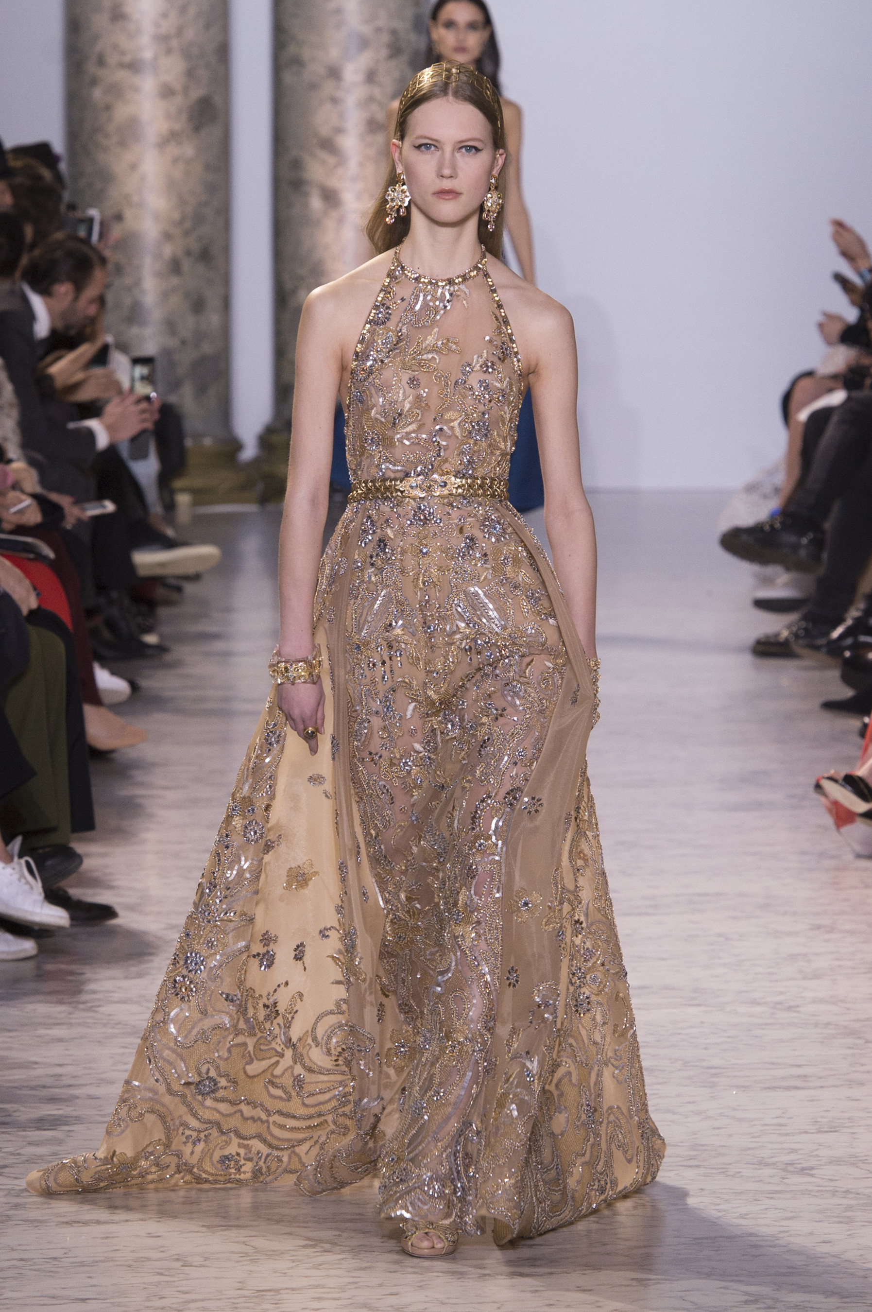 Robe soiree haute couture elie saab
