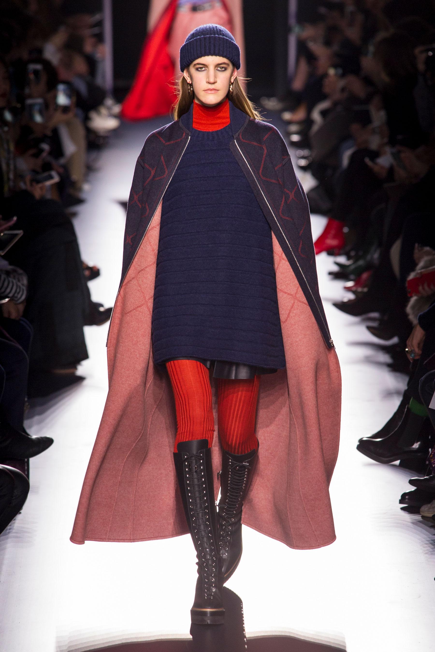 b9e78310490 Défilé Hermès Prêt à porter Automne-Hiver 2017-2018 - Paris - Elle