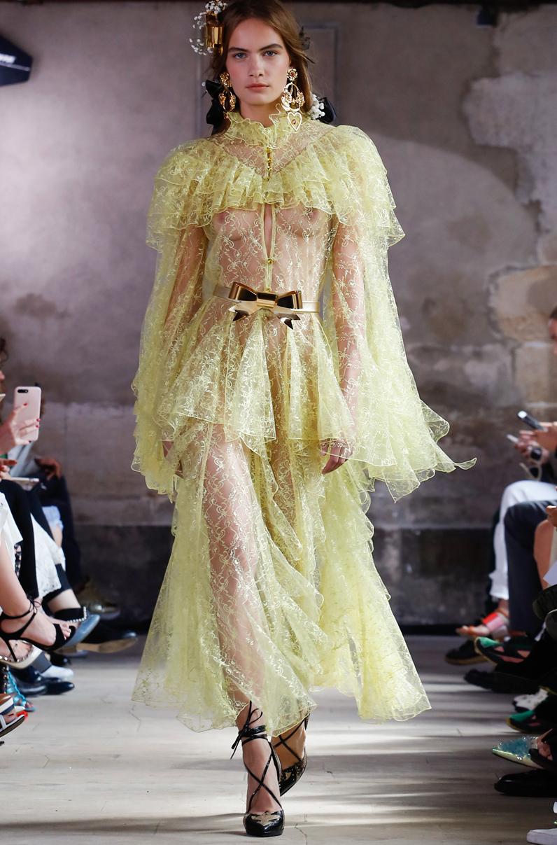 Tabliers Haute Couture : Défilé rodarte haute couture automne hiver