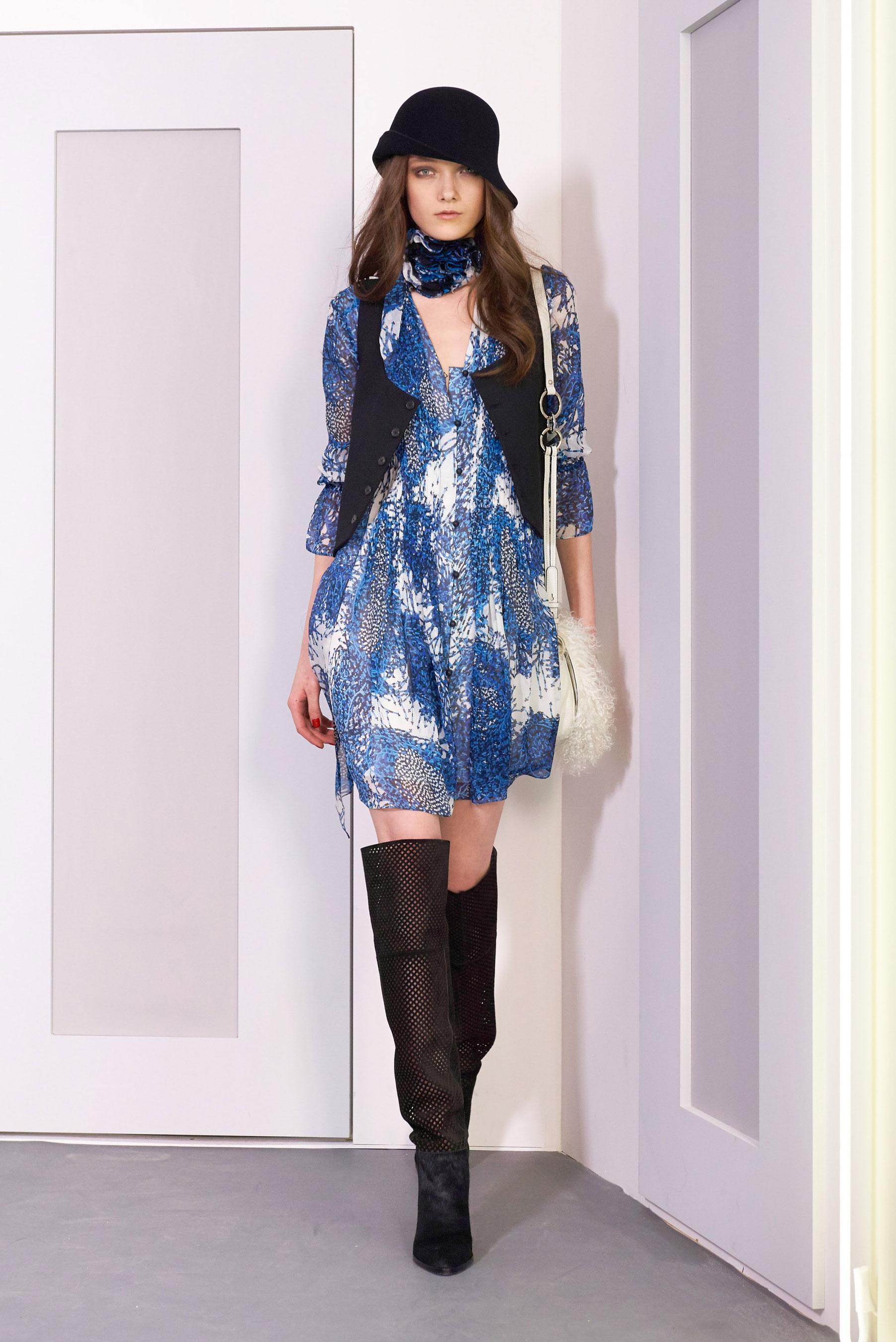 D fil diane von furstenberg pr t porter automne hiver for Diane von furstenberg new york