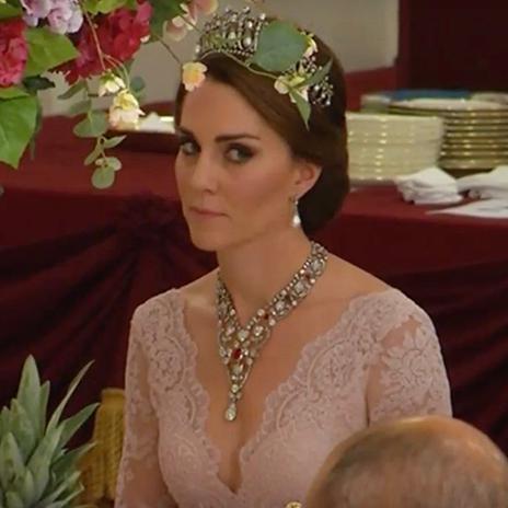 Kate Middleton Sublime Avec La Tiare De Lady Di Elle