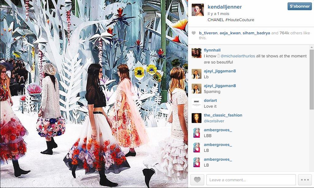 Kendall jenner les 101 comptes instagram suivre pendant la fashion week elle - Qui suivre sur instagram ...
