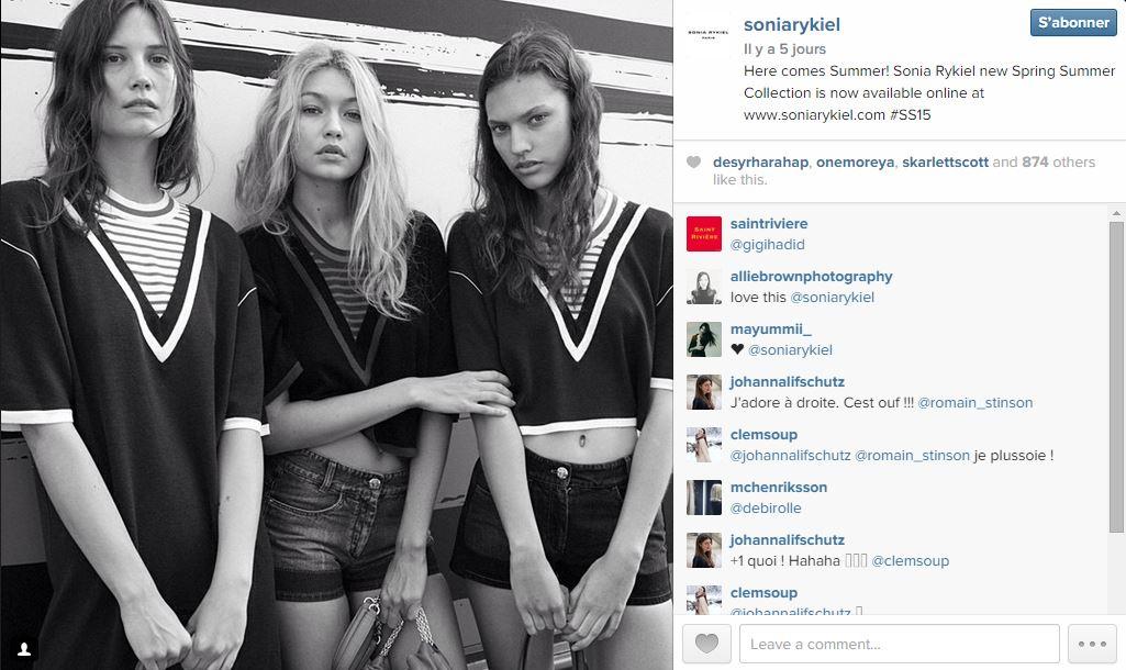 Sonia rykiel les 101 comptes instagram suivre pendant la fashion week elle - Qui suivre sur instagram ...