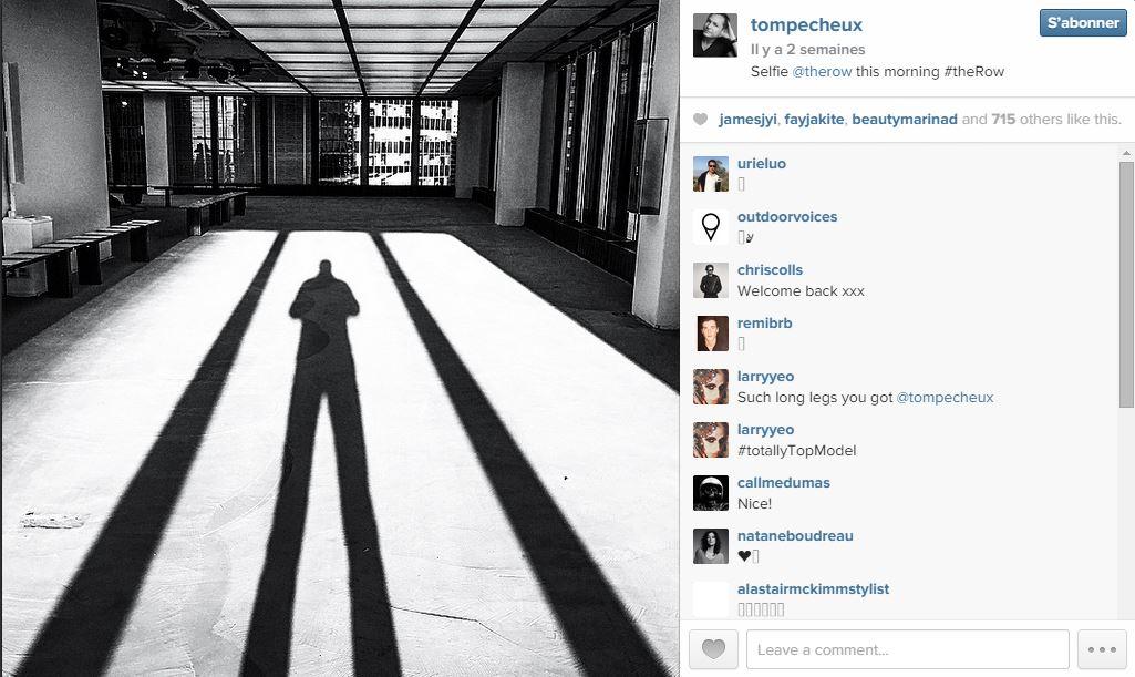 Tom pecheux les 101 comptes instagram suivre pendant la fashion week elle - Qui suivre sur instagram ...