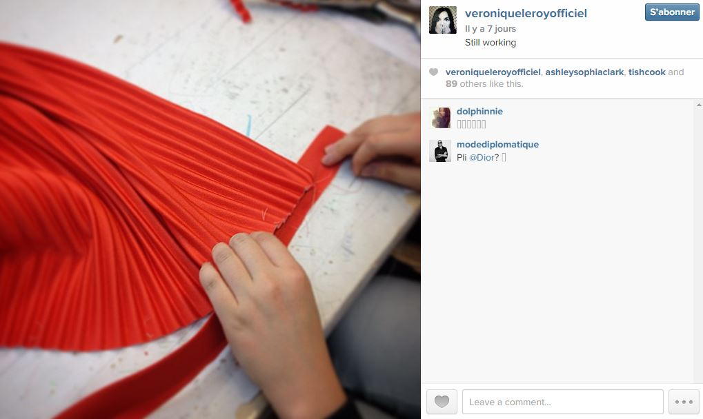 V ronique leroy les 101 comptes instagram suivre pendant la fashion week elle - Qui suivre sur instagram ...