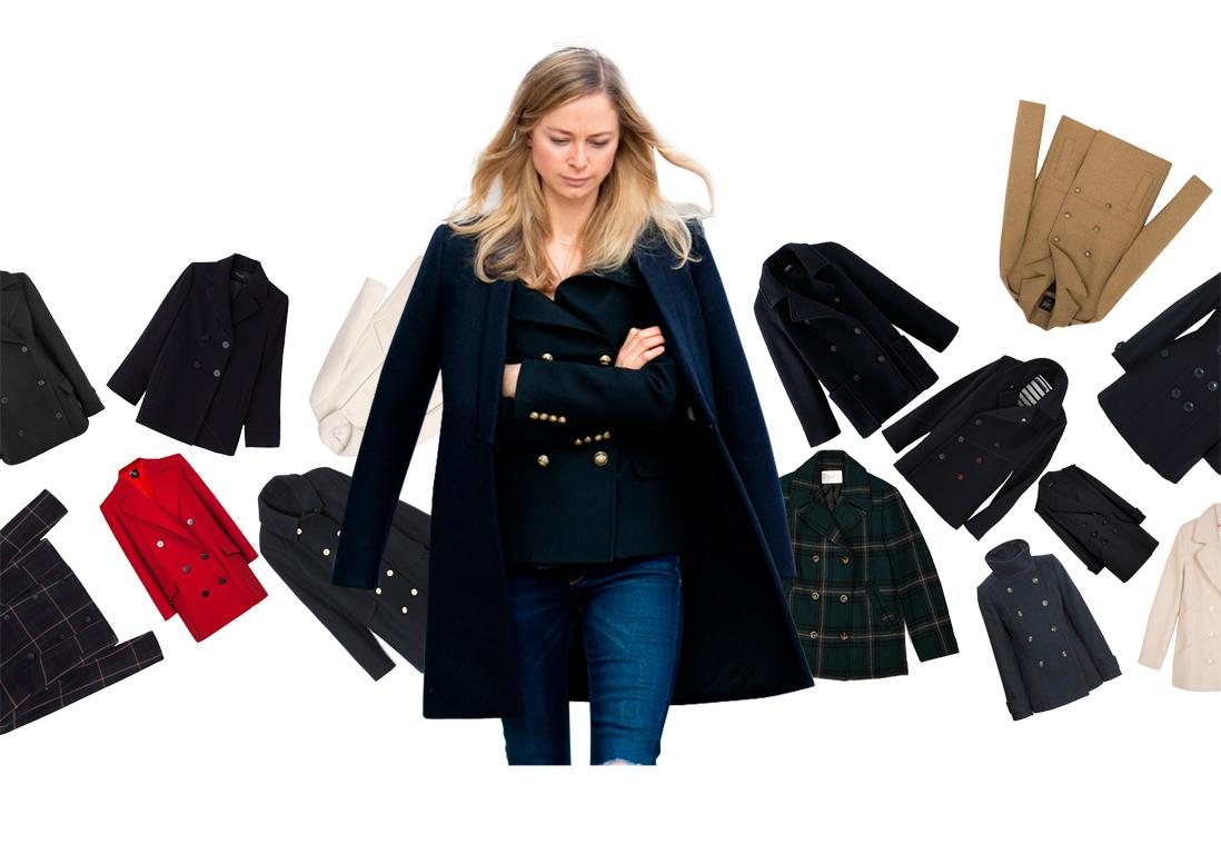 caban femme les plus beaux cabans pour femme de l hiver 2016 elle. Black Bedroom Furniture Sets. Home Design Ideas