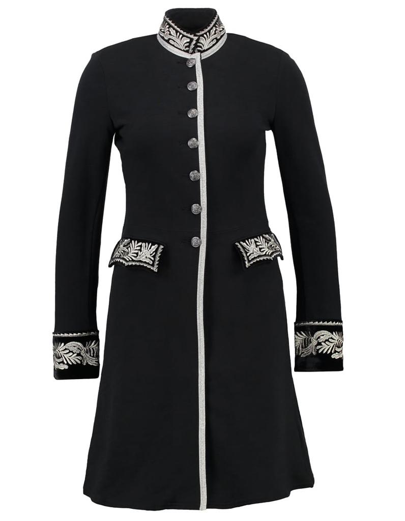 manteau officier brod 14 manteaux officier pour un hiver styl elle. Black Bedroom Furniture Sets. Home Design Ideas