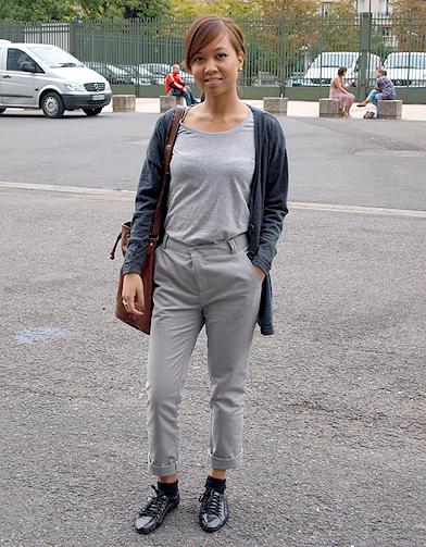 Irma d fil de fashionistas au salon who s next elle for Salon who s next