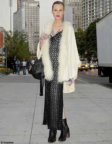 Mode Defiles New York Street Style 1 Fashion Week Les New Yorkaises Font Leur Show Elle