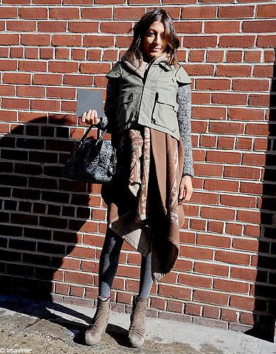 Serez vous d accord pour dire que ce qu elle porte sous sa mini veste kaki n est autre qu une - Qu est ce qu une porte postformee ...