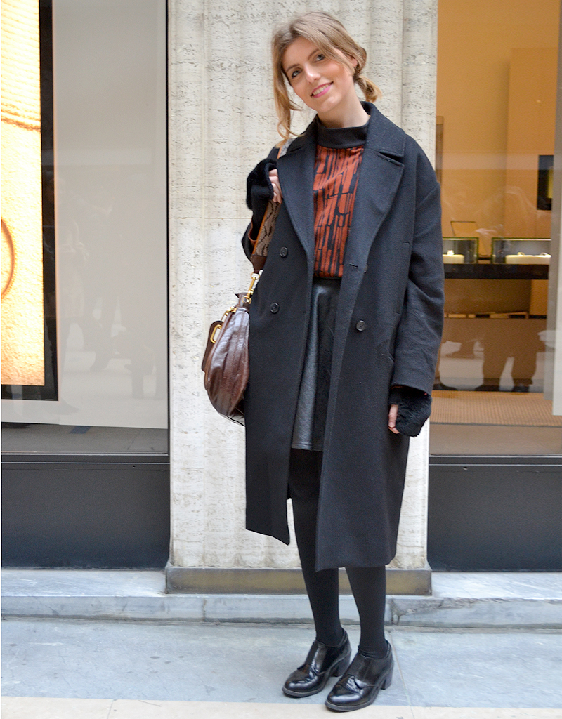 Laetitia Leporcq Street Style Fashion Week Street Style La Tenue De Fashion Week Des Filles
