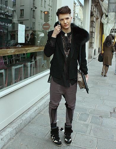 mode street style homme look tendances defiles haute couture paris 41 street style les mecs. Black Bedroom Furniture Sets. Home Design Ideas