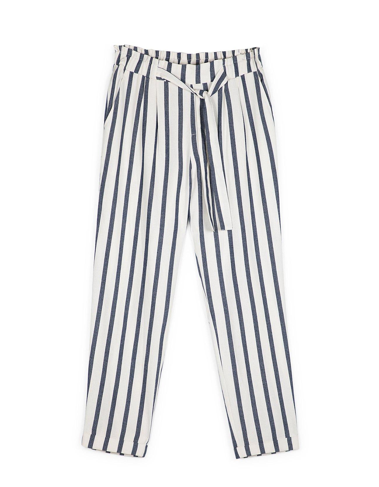 pantalon rayures stradivarius 20 pantalons pour. Black Bedroom Furniture Sets. Home Design Ideas