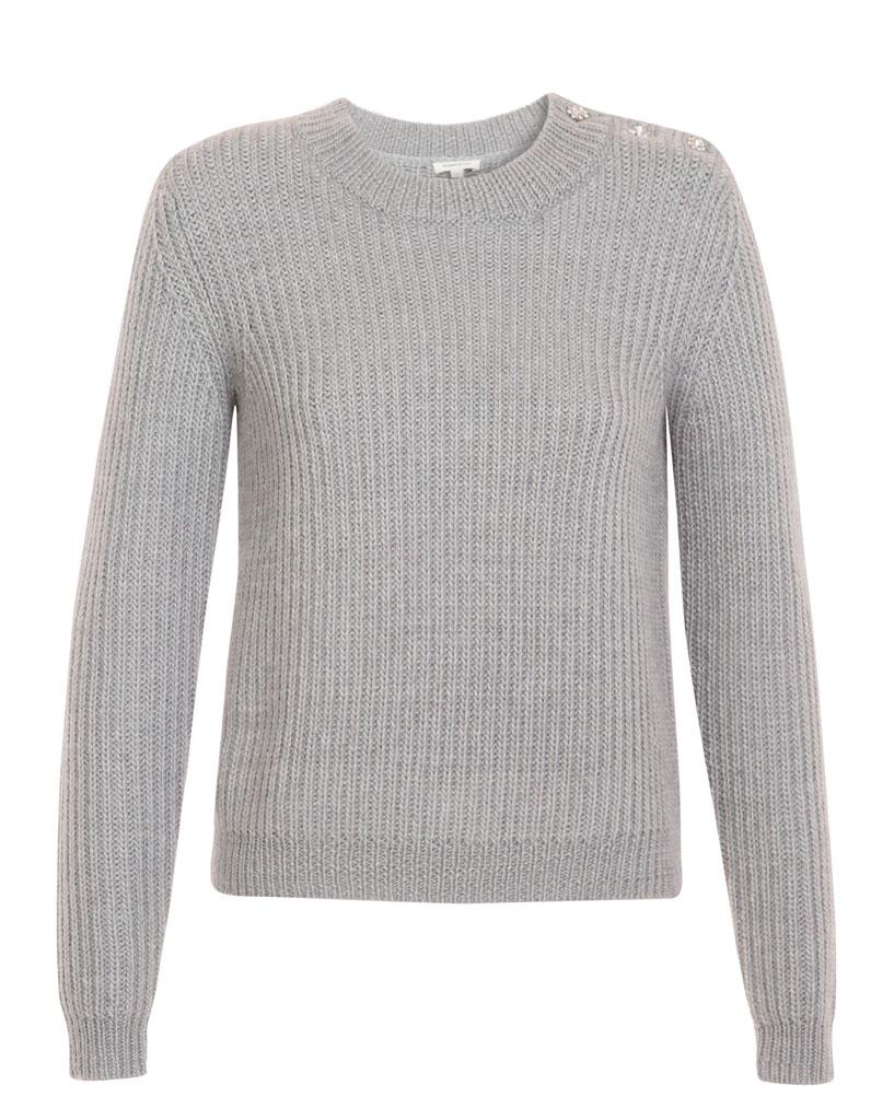 pull en laine gris manoush 30 pulls en laine pour tre au chaud tout l hiver elle. Black Bedroom Furniture Sets. Home Design Ideas