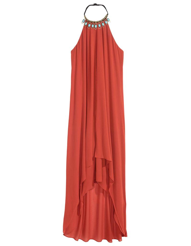 robe de cocktail corail h m 30 robes de cocktail pour. Black Bedroom Furniture Sets. Home Design Ideas