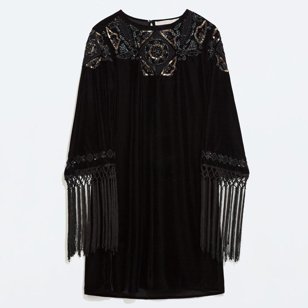 robe de soiree zara robe de soiree longue chez zara tres. Black Bedroom Furniture Sets. Home Design Ideas