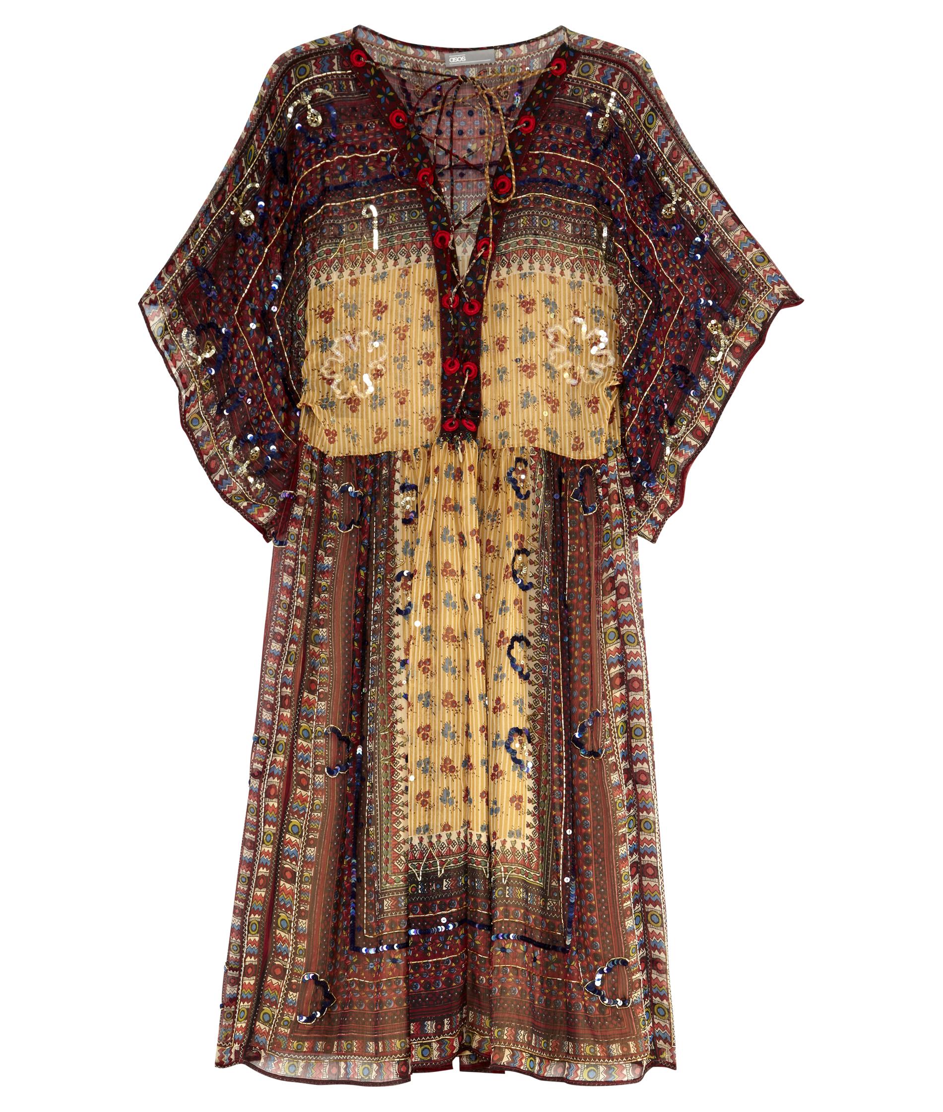 robe hippie asos envie d une robe hippie elle. Black Bedroom Furniture Sets. Home Design Ideas
