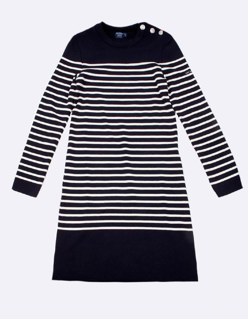 robe manches longues marini re saint james 40 robes manches longues pour affronter l hiver. Black Bedroom Furniture Sets. Home Design Ideas