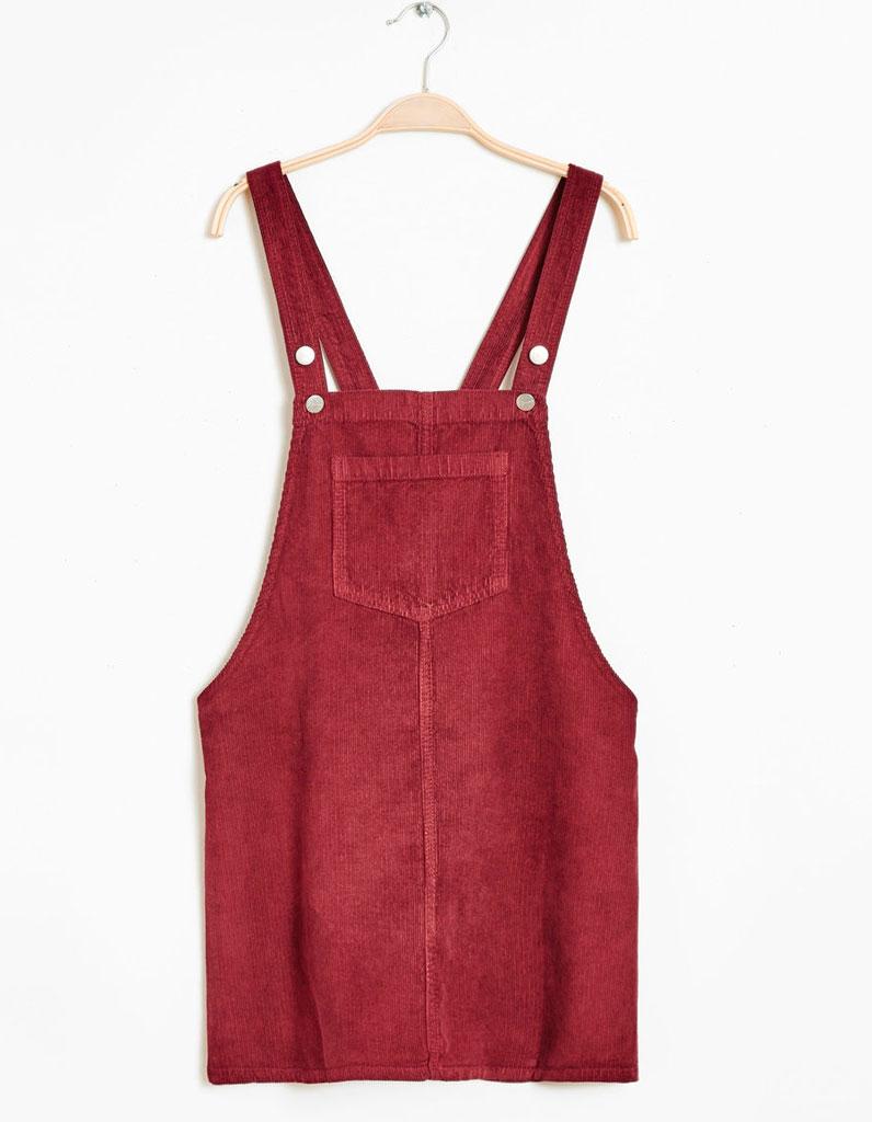 Robe salopette Jennyfer - 20 robes salopettes pour un look qui en jette - Elle