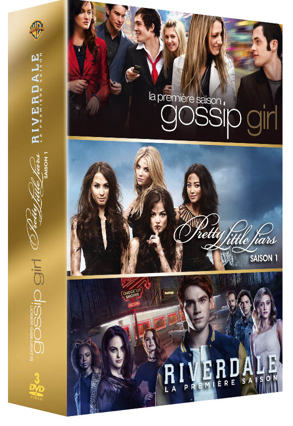 coffret teenage girls saisons 1 de riverdale gossip girl. Black Bedroom Furniture Sets. Home Design Ideas