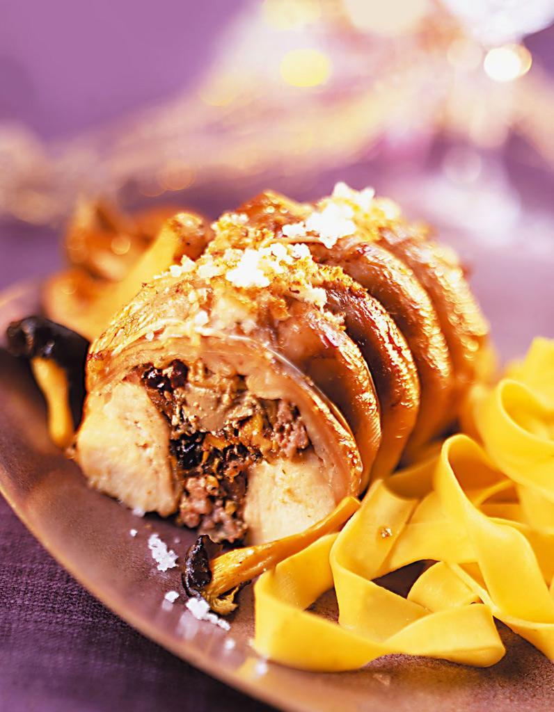 R bles de lapin farcis aux morilles et foie gras comment - Cuisiner un foie gras congele ...