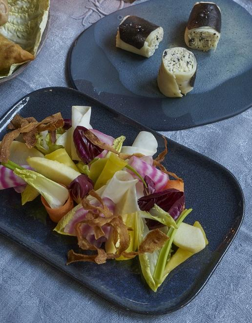 salade de fruits et l gumes d hiver pour 4 personnes recettes elle. Black Bedroom Furniture Sets. Home Design Ideas