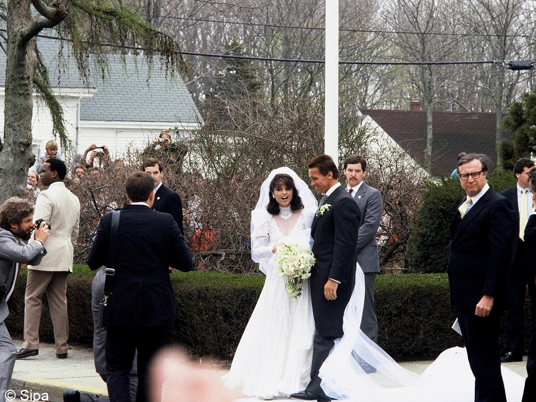 Le mariage arnold schwarzenegger et maria shriver les meilleures photos de mariage de stars elle - Les photos de mariage ...