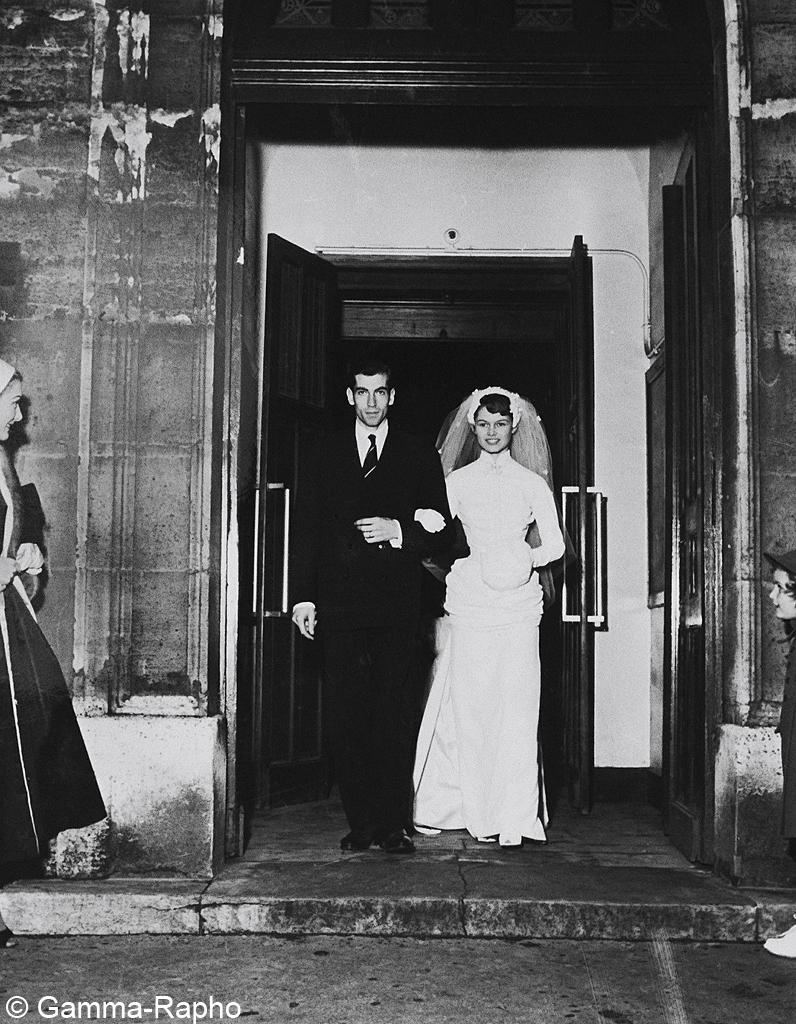 mariage de Brigitte Bardot et Roger Vadim - Les meilleures photos de ...