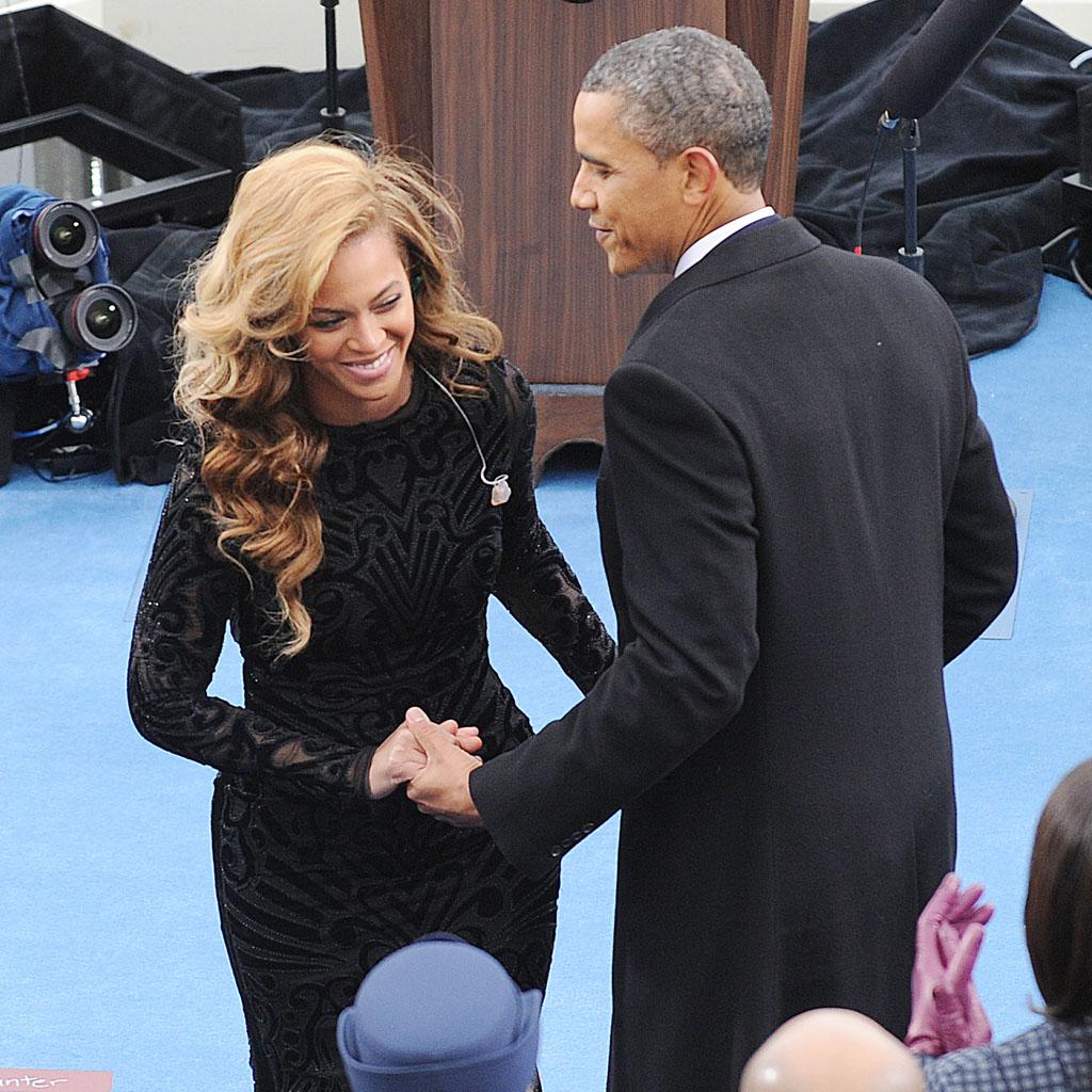 Barack Obama et Beyoncé : les coulisses de la rumeur - Elle Obama And Beyonce