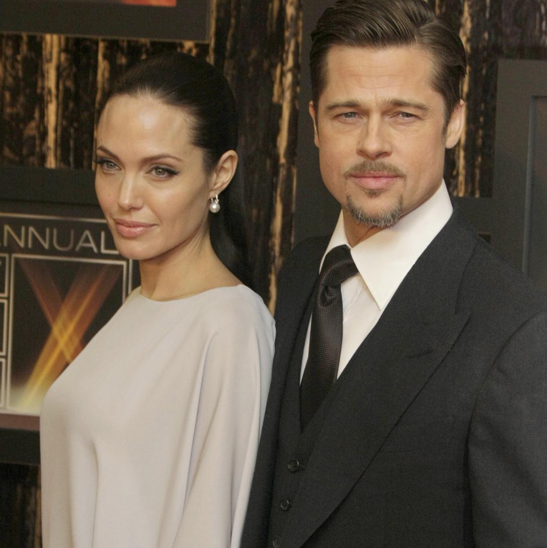 Brad Pitt et Angelina ...