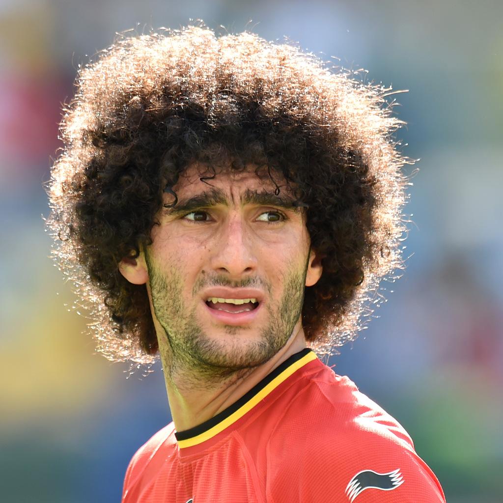 Marouane Fellaini Brésil 2014 les 10 coupes de cheveux les