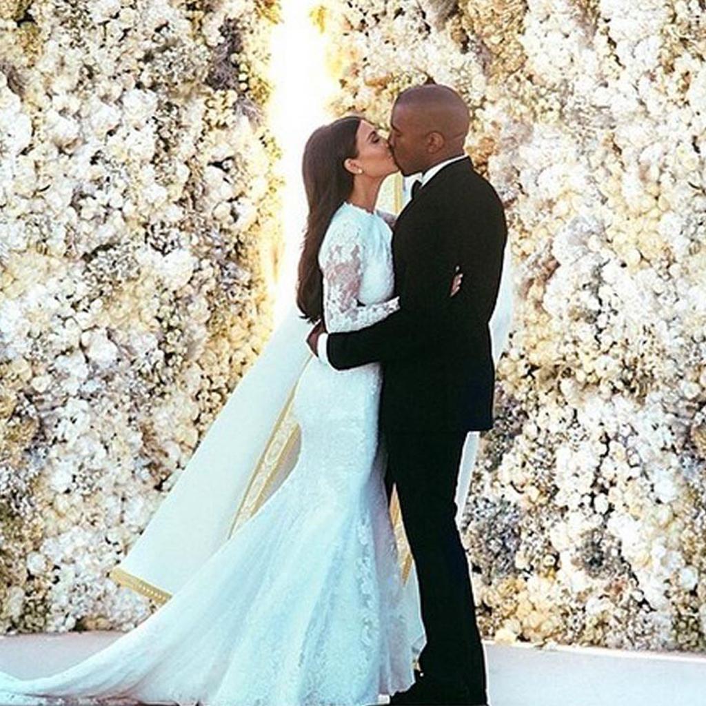 Kim Kardashian et Kanye West  toutes les photos du mariage