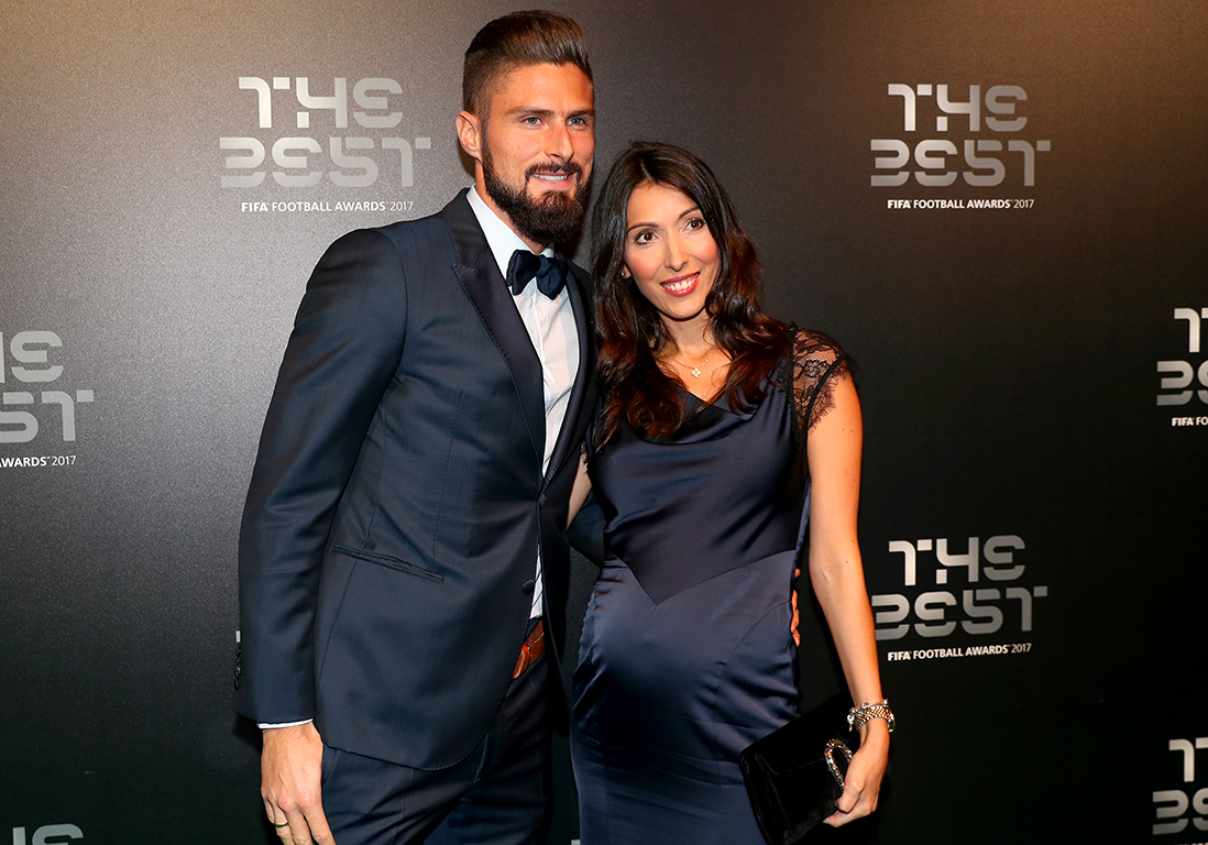 olivier giroud et sa femme jennifer bient t un troisi me enfant elle. Black Bedroom Furniture Sets. Home Design Ideas