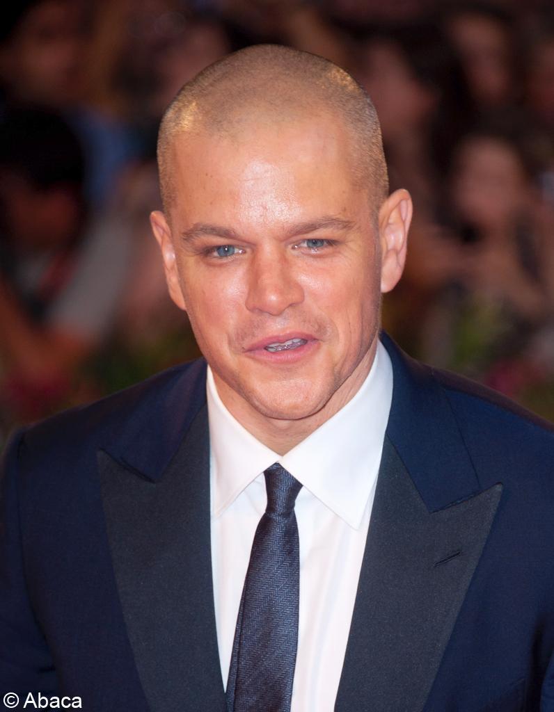 David Beckham Fashion Style 2013 Matt Damon chauve - Ra...